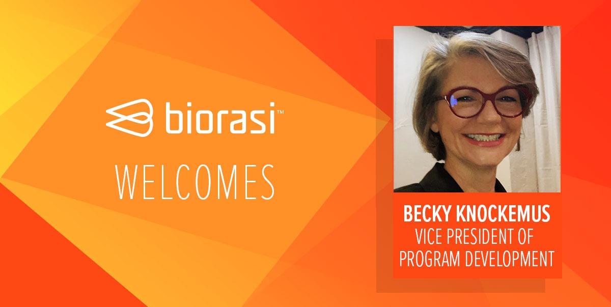 Biorasi Welcomes Becky Knockemus