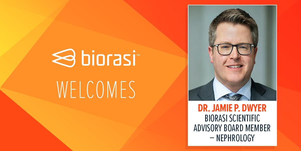 Biorasi Welcomes Jamie P Dwyer