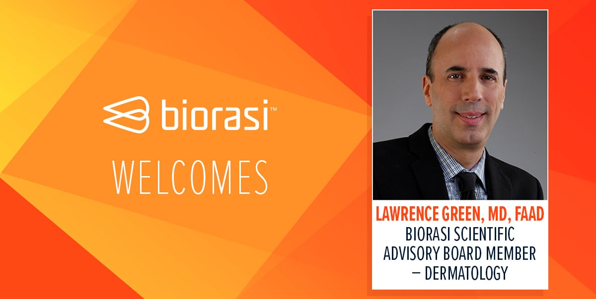 Biorasi Welcomes Lawrence Green Website